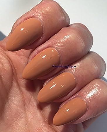 Bluesky 80514 - Esmalte de uñas de gel para crema de café, 10 ml, 2 toallitas de brillo Homebeautyforyou: Amazon.es: Belleza