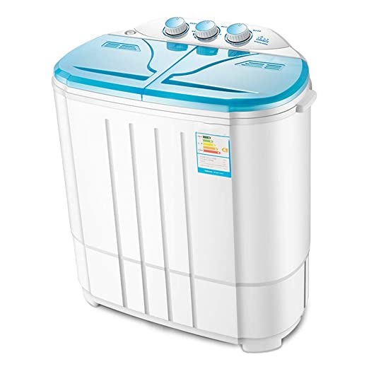 lavadora Mini BañEra PortáTil, Barril Doble SemiautomáTico con ...