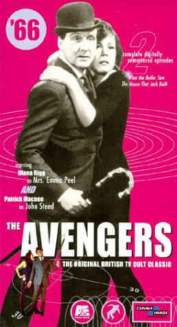 The Avengers '66 - What the Butler Saw /The House That Jack Built [VHS] by A&E Home Video
