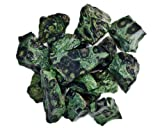 Hypnotic Gems Materials: 1 lb Bulk Rough Crocodile Jasper Stones from Madagascar - Raw Natural Crystals for Cabbing, Tumbling, Lapidary, Polishing, Wire Wrapping, Wicca & Reiki Crystal Healing
