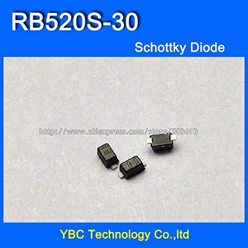 MAO YEYE 1000pcs/lot RB520S-30 B 200MW 30V SMD Schottky Diode