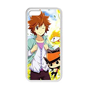 Customize Cartoon Anime Cute White Phone Case for iPhone 5c Phone Case Cover Loskin customize case