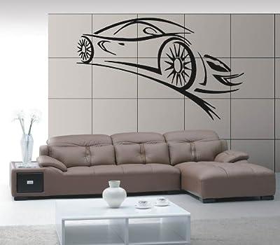 Wall Stickers Vinyl Decal Sport Car Racing Speed Luxury Car z331