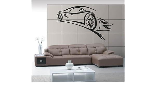 Sport Car Luxury Car  Speed Vehicle Mural  Wall Art Decor Vinyl Sticker z331