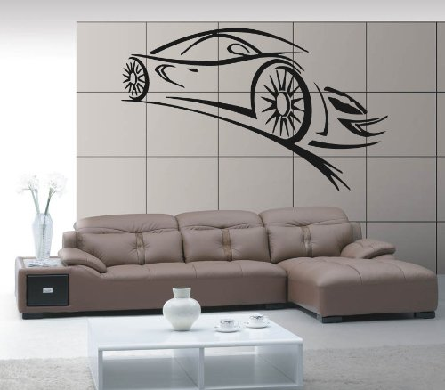 Wall Stickers Vinyl Decal Sport Car Racing Speed Luxury Car z331