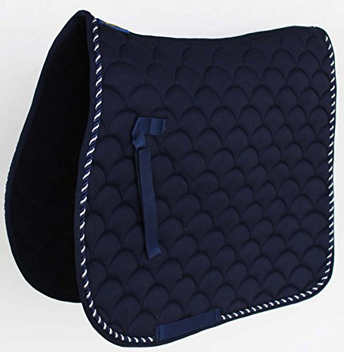 Professional Equine Horse Quilted English Saddle PAD Trail Dressage ()
