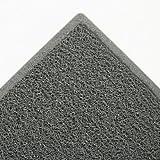 3M 34843 Dirt Stop Scraper Mat, Polypropylene, Slate Gray