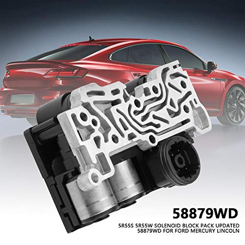 5R55S 5R55W Solenoid Block Pack Updated Car Parts 58879WD for Ford Mercury  Lincoln