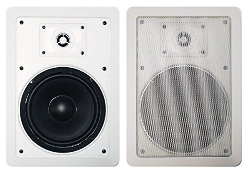 Precision Acoustics PA265IW 6.5' 2-Way In-Wall Speakers (Pair)