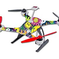 Skin For Blade 350 QX3 Drone – Peace Smile | MightySkins Protective, Durable, and Unique Vinyl Decal wrap cover | Easy To Apply, Remove, and Change Styles | Made in the USA