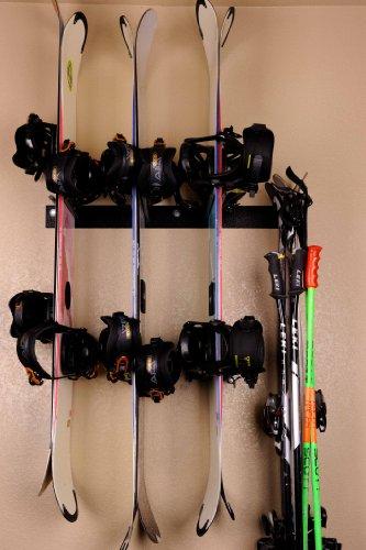 Rough Rack 4 8 Ski & Snowboard Ski Rack
