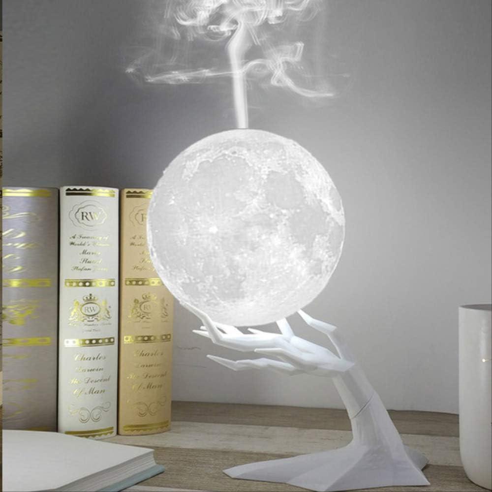 No brand 880ml Ultrasonic Moon Air Humidifier Aromatherapy