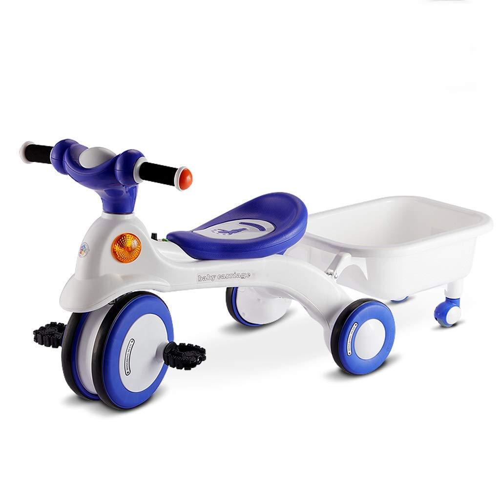 Dreirad Für Kinder Outdoor-Fahrrad Für Modekinder Dreirad Für Kinder Von 1-5 Jahren Outdoor-Fahrrad Für Jungen Und Mädchen Kinderspielzeug Blau