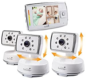 summer infant dual view digital video monitor set extra camera baby. Black Bedroom Furniture Sets. Home Design Ideas