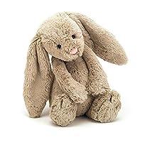 Peluche Jellycat Bashful Beige Bunny, Mediano, 12 pulgadas