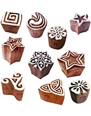 Smallest Creative Designs Wooden Printing Stamps for DIY Block Printing