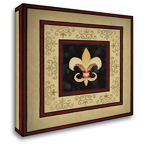 Fleur de LYS II 20x20 Gallery Wrapped Stretched Canvas Art by Gaynor, Janice