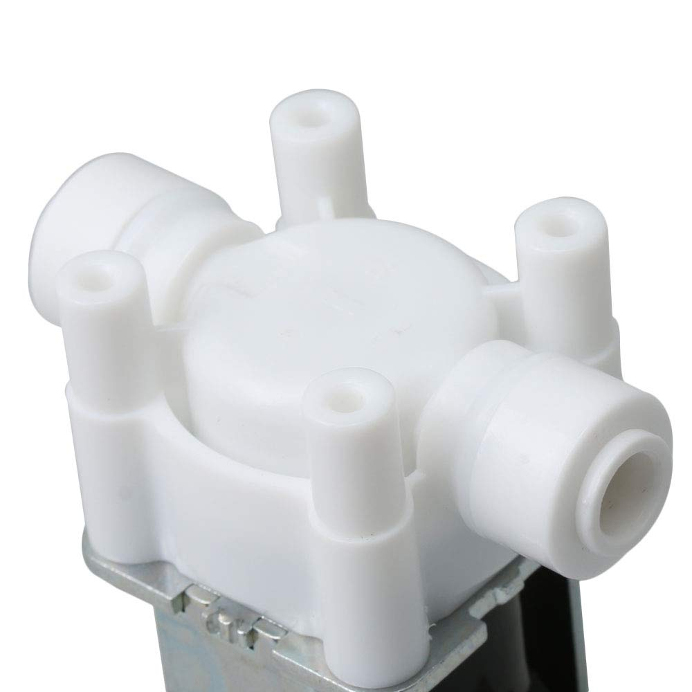 Inlet Solenoid Valve Water 1//4 12V for Water Purifier Home 5.7x5.6x3.3cm