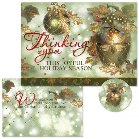 Amazon.com: Tarjetas de felicitación de Navidad con 24 ...