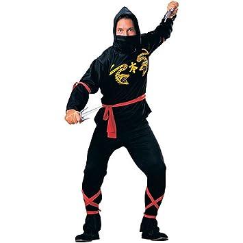 Ninja - Disfraz hombre, talla 48-50 (R55026): Amazon.es ...