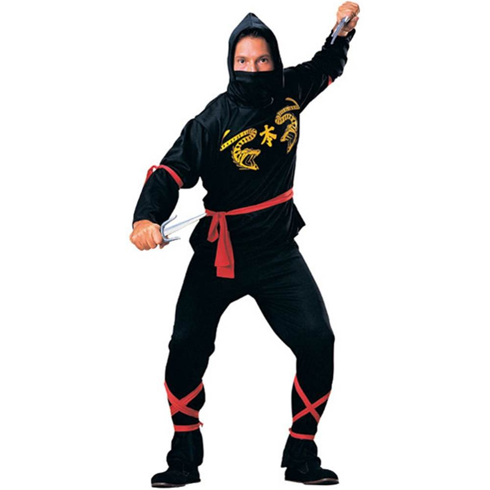 Amazon.com: Classic Ninja Adulto Disfraz: Clothing