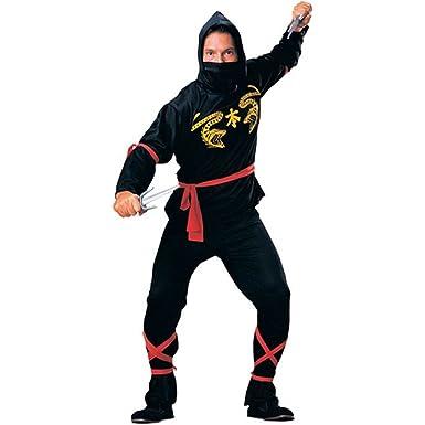 Amazon.com: Classic Ninja Adulto Disfraz: Clothing