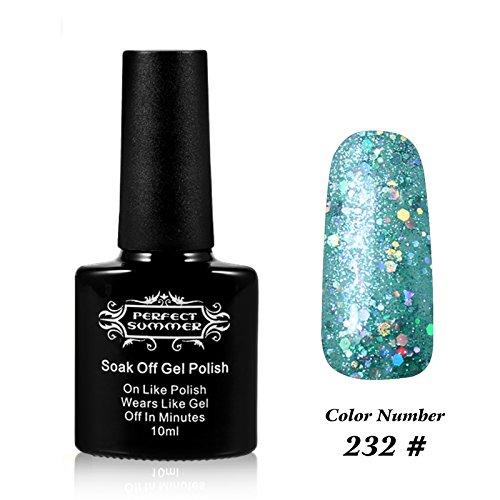 Perfect Summer Pro UV LED Soak Off Gel Nail Polish 10ml, Per