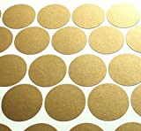 "Gold Wall Dots (200 Decals) 2"" Inch 