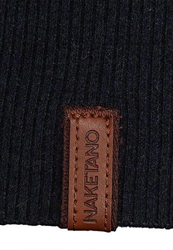 Naketano Female Knit Tittenalarm Dark Blue Melange CYwtHbJEz