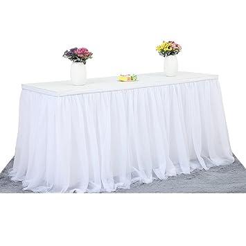 Tabelle Rock Tuch Weiss Table Rock Tull Fur Hochzeit Geburtstag