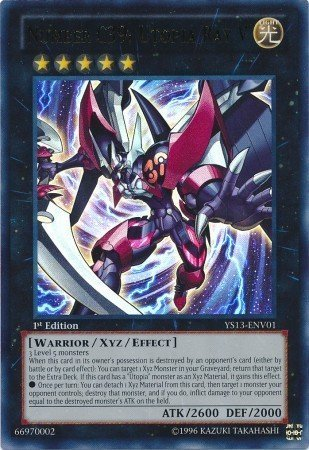 Yu-Gi-Oh! - Number C39: Utopia Ray V (YS13-ENV01) - Super Starter Power-Up Pack - 1st Edition - Ultra Rare (Number C39 Utopia compare prices)
