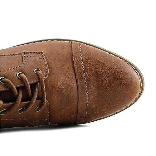 Brown Toe Leather Rd Cap Indigo Medium Womens Harts Oxfords OPf1CqT