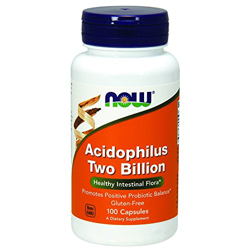 NOW Acidophilus Two Billion,100 Capsules