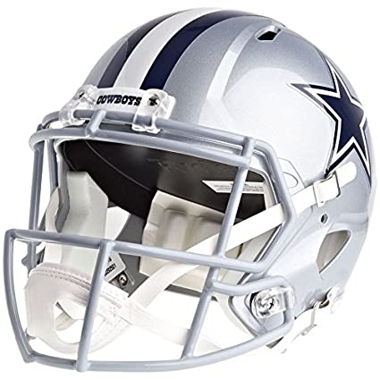 082eaa88580 Amazon.com   Riddell Dallas Cowboys Officially Licensed Speed Full Size  Replica Football Helmet   Sports   Outdoors