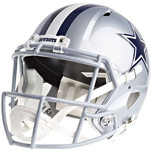 Dallas Cowboys Officially Licensed Speed Full Size Replica Football Helmet (Dallas Cowboys Deluxe Replica Helmet)