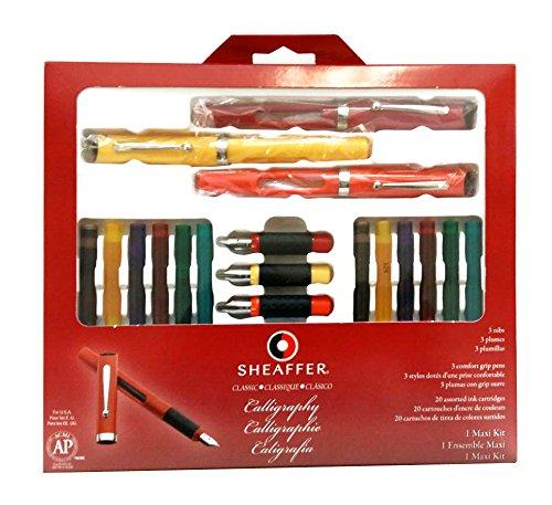 Sheaffer(R) Calligraphy Kit, Set Of 7