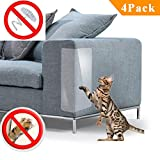 PetIsay Plastic Couch Guard from Cat Scratching Protector Clawing Furniture Repellent Table Set Sofa Slipcover Pads M
