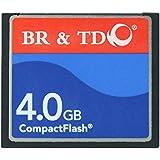 Compact Flash Memory Card BR&TD ogrinal Camera Card (4gb)