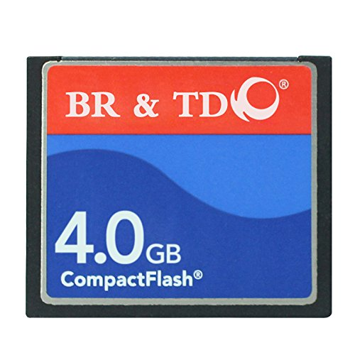 Compact Flash memory card BR&TD ogrinal camera card (4gb) by BR & TD