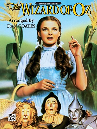 - The Wizard of Oz: Piano Arrangements (Big Note Piano)