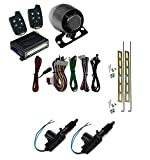 Astra Scytek A20 Galaxy Series Complete Car Security Alarm System & Keyless Entry w/ 5-Button Remote with Universal Power Door Lock 2 Wire Actuator Kit