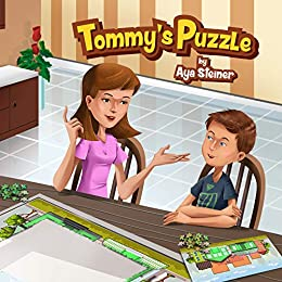 Children's book: Tommy's Puzzle by [Steiner, Aya]