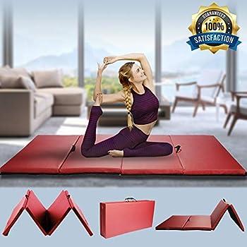 Amazon gym exercise mat gymnastics mat thick