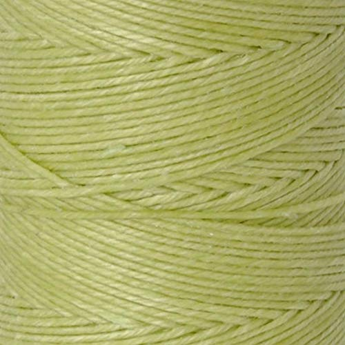 Waxed Irish Linen Crawford Cord 4 Ply 1 Spool NATURAL by Crawford Threads