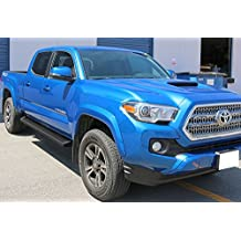 "Matte Black 6"" iBoard Running Boards Fit 05-17 Toyota Tacoma Double Cab/Crew Cab Nerf Bar Side Steps Tube Rail Bars"