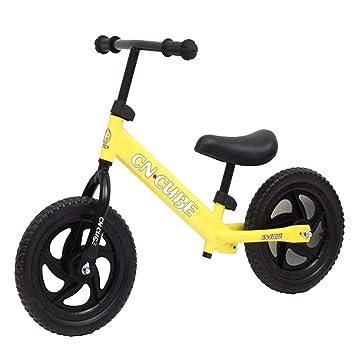 Hejok Bicicleta De Equilibrio Naranja - 12 Pulgadas Bicicleta De ...