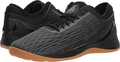Reebok Women's CROSSFIT Nano 8.0 Flexweave Cross Trainer, Black/Alloy/Gum, 8.5 M US from Reebok