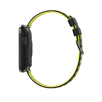 Amazon.com: Huangou GV68 - Reloj de pulsera inteligente con ...