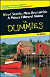 Nova Scotia, New Brunswick, and Prince Edward Island for Dummies by Andrew Hempstead front cover