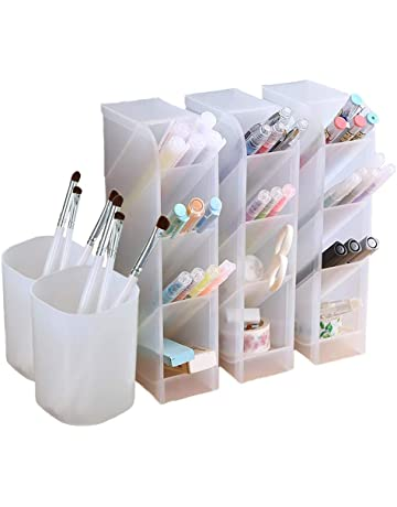 5 Pcs Desk Organizer- Pen Organizer Storage for Office, School, Home Supplies,